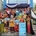 1.100 Peserta Satukan Keberagaman di Pontianak Creative Carnival