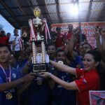 Karolin Tutup Turnamen Sepakbola Bupati Cup 2019