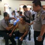 Imunisasi Hepatitis Bdi Lingkungan Polri
