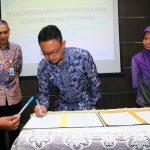 Dirjen Cipta Karya, Pemkot Pontianak dan PT SMF Teken Kerjasama