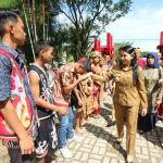 Karolin Jadi Irup Peringati Hari Sumpah Pemuda di SMPN 2 Ngabang
