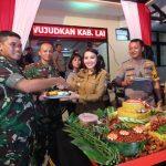 Pesta Demokrasi Telah Usai, TNI dan Polri Syukuran di Landak