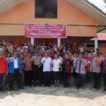 Calon Kades Deklarasi Damai Jelang Pilkades Serentak di Sengah Temila