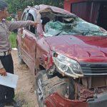 Guru SDN Tempurukan Korban Kecelakaan Maut di Muara Pawan