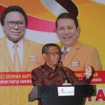 Gubernur Kalbar Buka Rapimda Partai Hanura