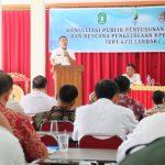 Konsultasi Publik Penyusunan Tata Hutan dan Rencana Pengelompokan KPHP unit VII