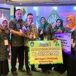 Terapkan Pendidikan Karakter, SMPN 1 Pontianak Raih Juara I LSS Nasional