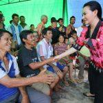 Pemkab Landak Salurkan Bantuan untuk Korban Kebakaran di Desa Temahar