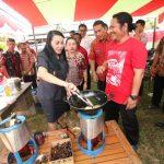 Pemkab landak Launching Kompor KMN