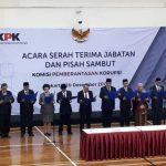 Serah Terima Jabatan, Firli Bahuri Cs Resmi Pimpin KPK Periode 2019-2023