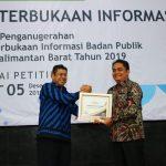 Pemkot Pontianak Raih Penghargaan sebagai Badan Publik Informatif