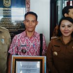 Desa Bentiang Madomong Raih Penghargaan Proklim se-Kalbar