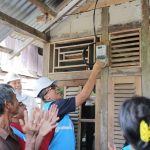 PLN Nyalakan Listrik di Desa Sabaka