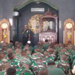Refleksi Akhir Tahun, Prajurit TNI AD Doa Bersama Lintas Agama