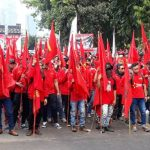 Ribuan Buruh akan Demo Tolak Omnimbus Law di DPR RI Pagi Ini