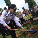 Pemkab Landak Dukung Program Peduli Penghijauan Polri