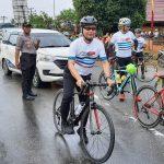 Bersepeda, Satu dari Sekian Banyaknya Hobby Wali Kota Pontianak