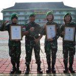 Pangdam XII/Tpr Sampaikan Penghargaan ke Atlet-Atlet Berprestasi