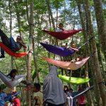 Aparatur Desa Bersama Pemuda Kuala Dua Sulap Hutan Terlantar Jadi Tempat Wisata