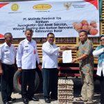 Pemkab Kubu Raya Salurkan 30 ribu butir telur  Bantuan CSR Perusahaan