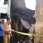 Wali Kota Pontianak Tinjau Lokasi Paska Kebakaran di Gang Sampit