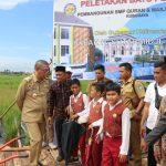 Pemprov Kalbar Dukung Pembangunan SMP Qur'an dan Masjid Al Karima