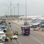 Mendarat di Batam, Ratusan WNI dari Wuhan Diangkut Menuju Natuna
