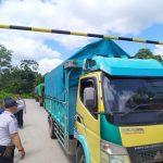 Dishub Landak Operasionalkan Portal Khusus di Ruas Jalan Munggu – Ngabang
