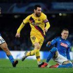 Barcelona ditahan Imbang Lawan Napoli, Skor 1-1