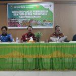 Workshop Akses Permodalan dan Pemasaran Pariwisata
