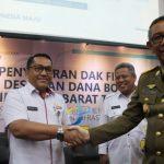 Kabupaten Landak Penyalur Dana Desa Terbaik Tahun 2019