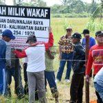 Warga Kubu Raya Wakafkan 9,6 Hektare Lahan untuk Pemakaman Umum
