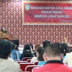 Pemkab Landak Sosialisasikan Bantuan Pangan Non Tunai