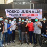 Ada Posko Jurnalis Melawan Covid-19 di Pontianak