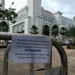Pengurus Masjid Raya Mujahidin Pontianak Gelar Shalat Ied Berjamaah