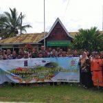 TNI Sosialisasikan Program desa Mandiri Menuju Langit Biru di Langit Khatulistiwa