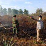 Patroli TNI/Polri Temukan 2 Lahan Karhutla di Kabupaten Mempawah