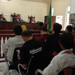 Sidang Perkara Dua Peladang di PN Sanggau