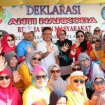Warga Kelurahan BML Deklarasikan Anti Narkoba
