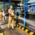 Pemkot Pontianak Kerahkan 1500 Personil Lakukan Penyemprotan Disinfektan Serentak