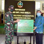 Pemkab Kubu Raya Terima 300 APD dari Persit XII/Tanjungpura