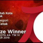Majalah Warta Kota Pemkot Pontianak Raih PR Indonesia Award