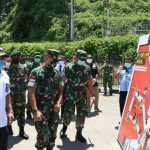 Pangdam XII/Tanjungpura Cek Mekanisme Kepulangan WNI di PLBN Entikong