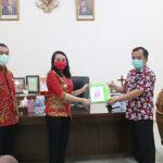 Pemkab Landak Terima Bantuan Masker dari BUMN