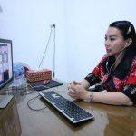 Bupati Landak Gelar Rapat Online Dengan 13 Camat