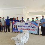 DPD Partai Demokrat Kalbar Salurkan Bantuan APD di Bengkayang