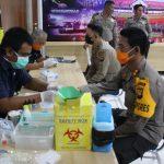 Polres Mempawah Donor Darah ditengah Pandemi Covid-19