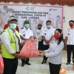 Pemkab Landak Terima Bantuan 2.518 Paket Sembako Dari Wilmar Group