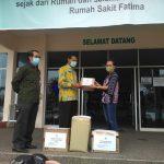 Pemkab Ketapang Salurkan Bantuan APD di RS Fatima