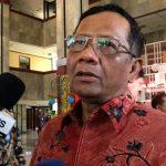 Pasang Badan, Mahfud MD: Pemerintah Tak Terlambat Tangani Corona, Cuma…